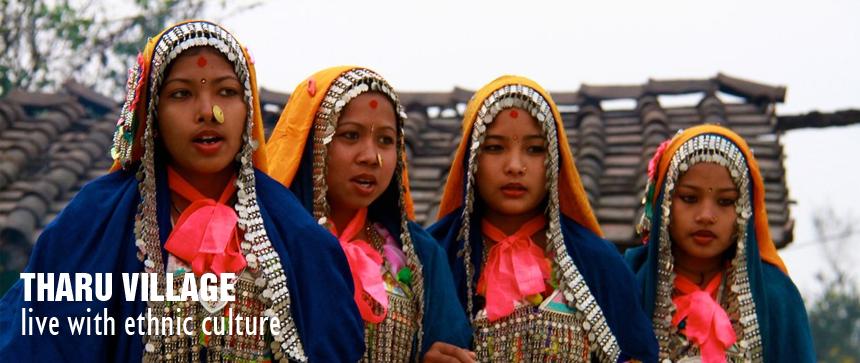 tharu-village
